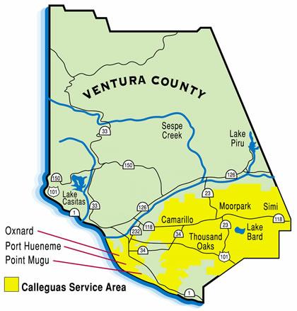 About Calleguas Municipal Water District - Us muni map